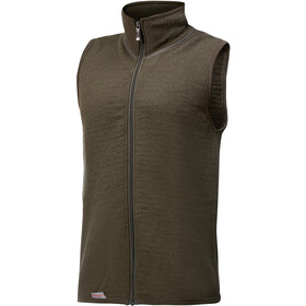 Woolpower 400 bodywarmer, pine green